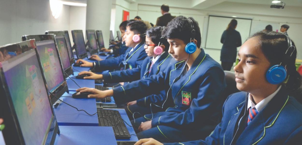 Computer Lab ITM GLobal School