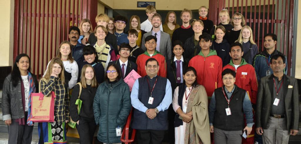 International Student visit at ITM Global School