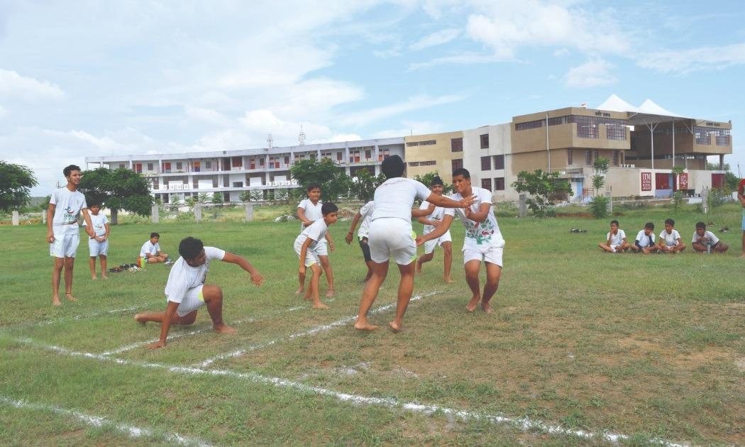 kabadi activity at Itm Global School