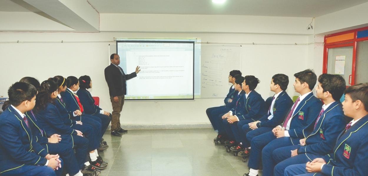 audio visual Class at ITM GLobal School