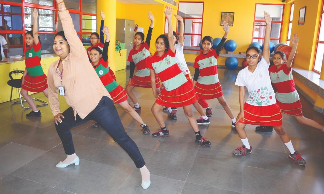 Dance Activity ITM Gloabl School