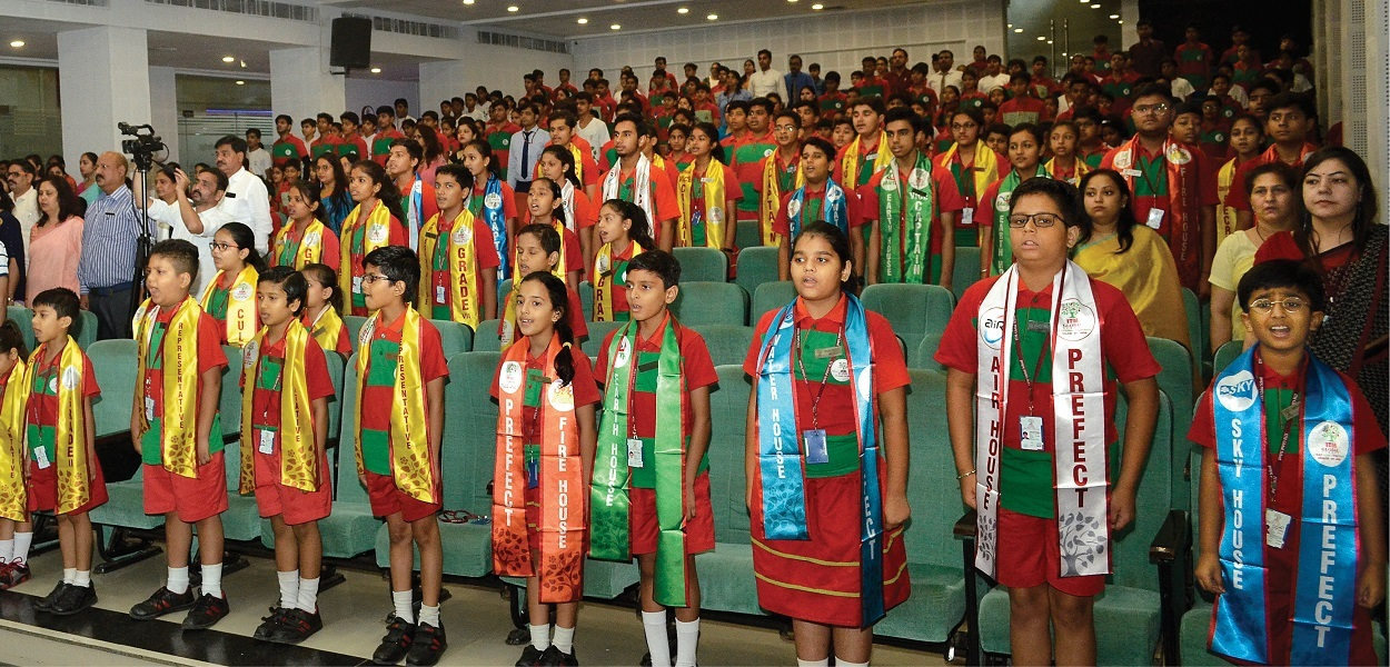 Event photograph Itm Global School