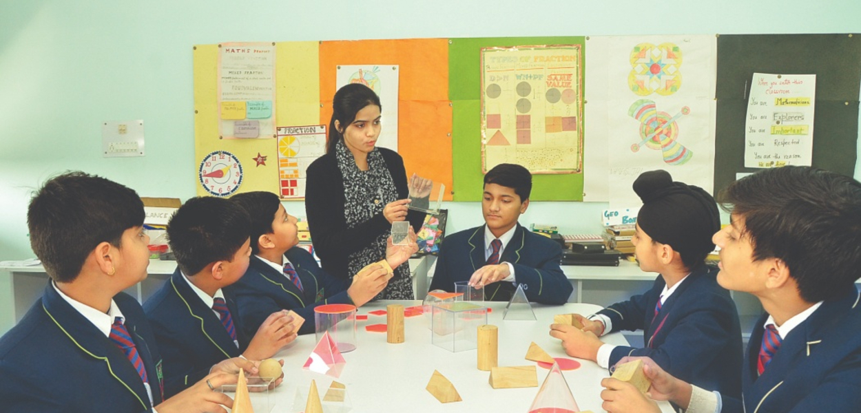 Learning with fun activity ITM GLobal School